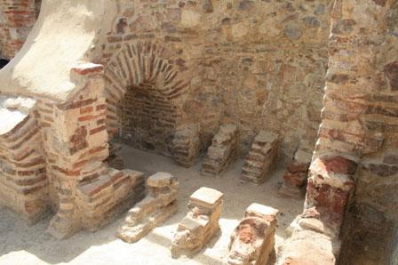 Villa romana Torre de Águila, Barbaño cerca de Montijo