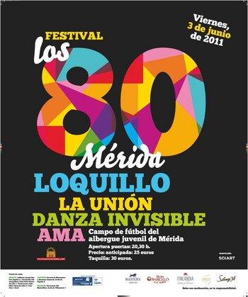festival los 80 merida