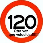 De nuevo el limite velocidad a 120 km/h