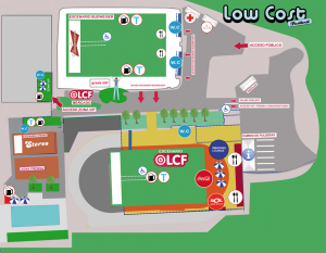 Low Cost 2011 Benidorm, plano del festival
