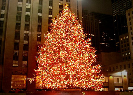 Foto árbol de Navidad